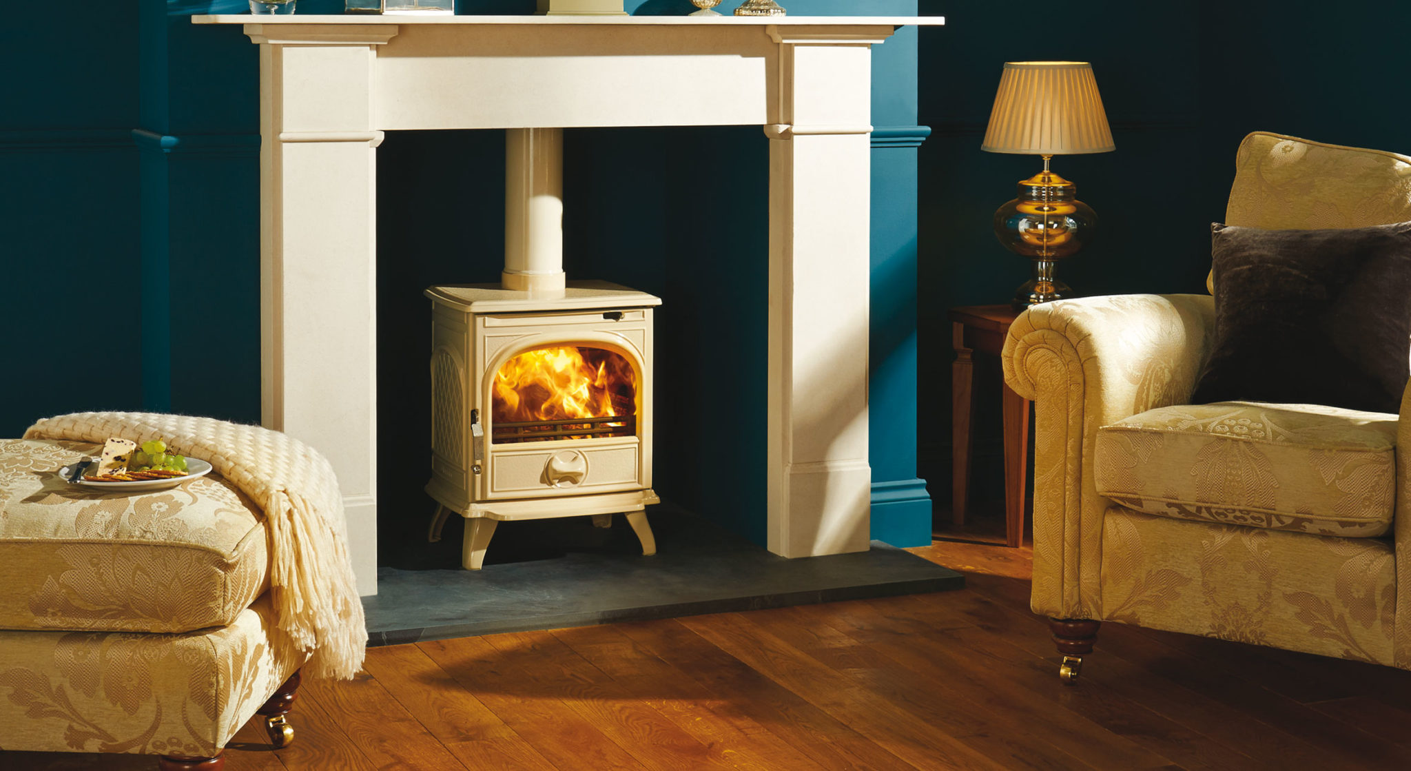Alluring flames and warmth from a Dovre Stove
