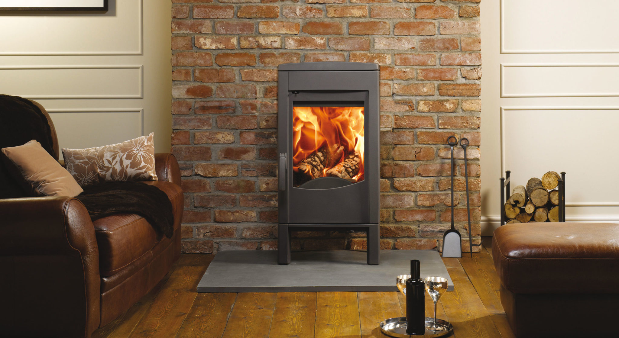 Contemporary wood burning stoves for today's interiors