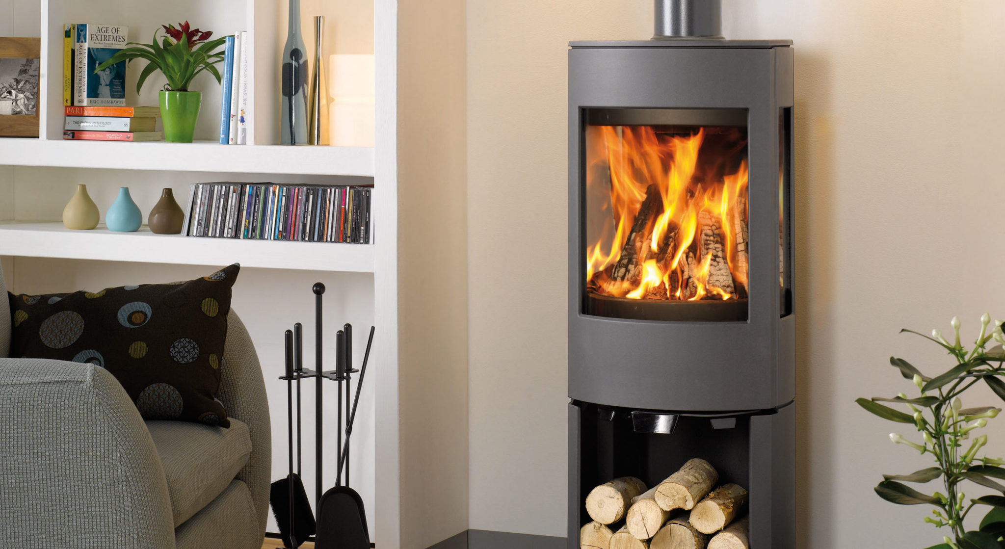 Unique wood burners from Dovre