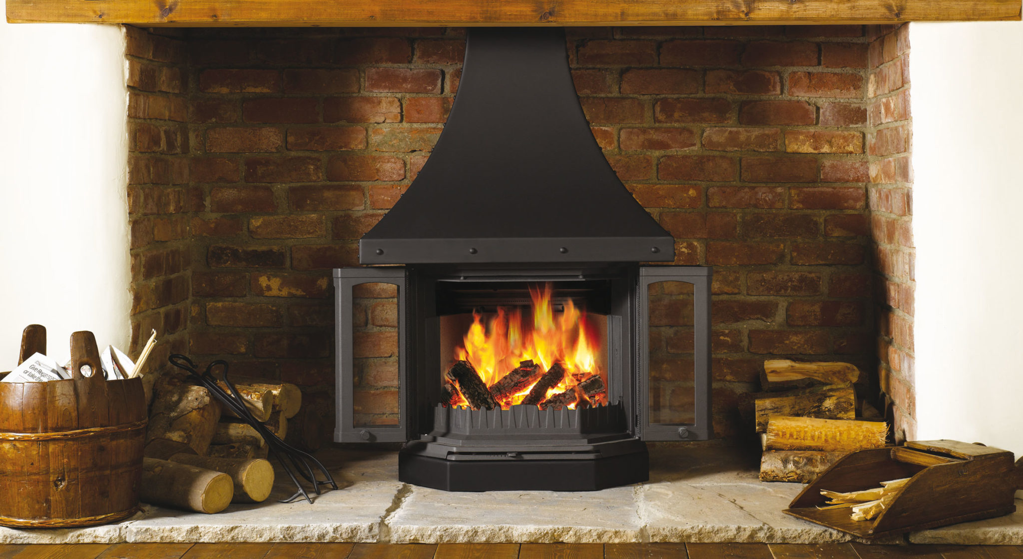 "Say ""no"" to idle inglenooks with a Dovre fireplace"