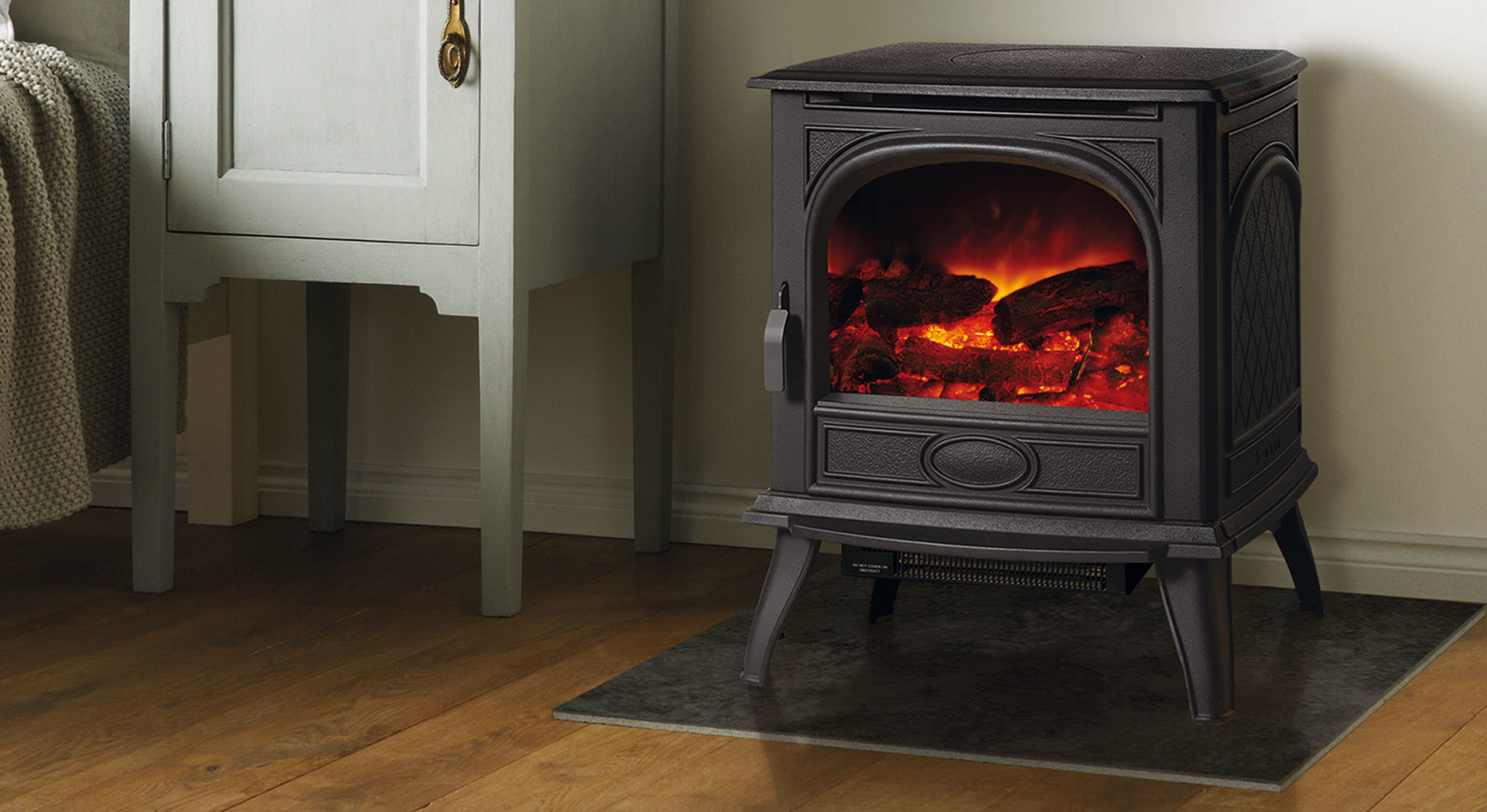 Electric log burners from Dovre