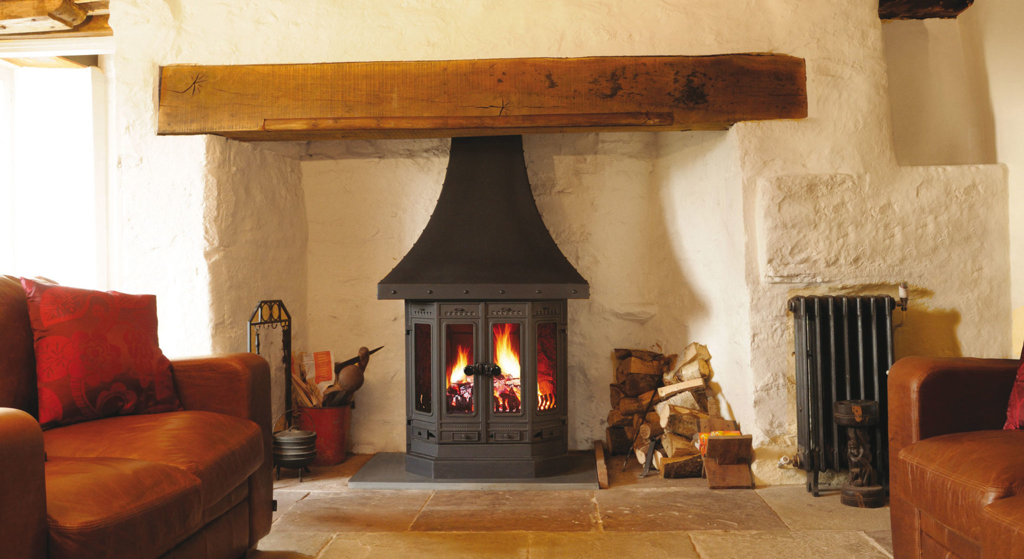 Top 5 Reasons to Choose a Dovre Wood Burning Fireplace