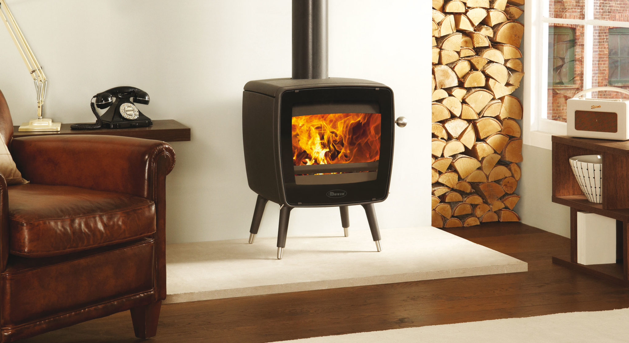 25 Beautiful Homes feature Dovre stove