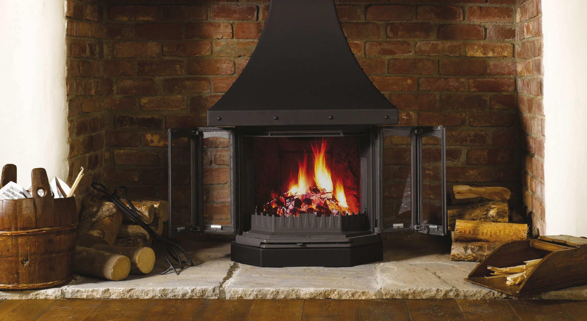 Find Your Fairytale Fireplace this Winter