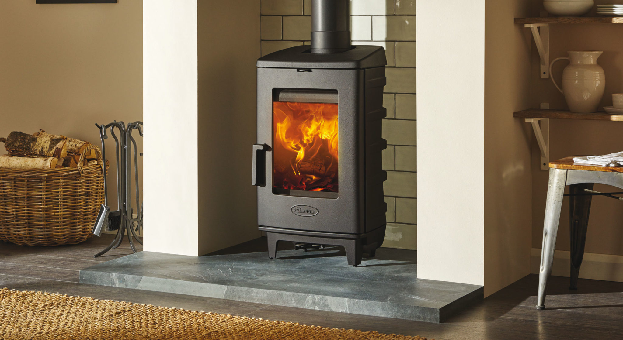 Brut – A Designer Wood Burning Stove With Advanced Heating Technology