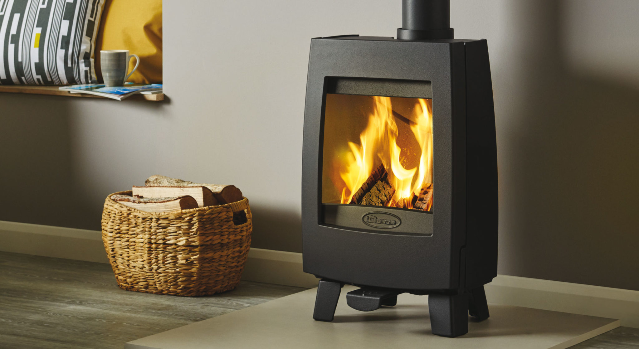 Wood Burning Stoves For A Contemporary Finish