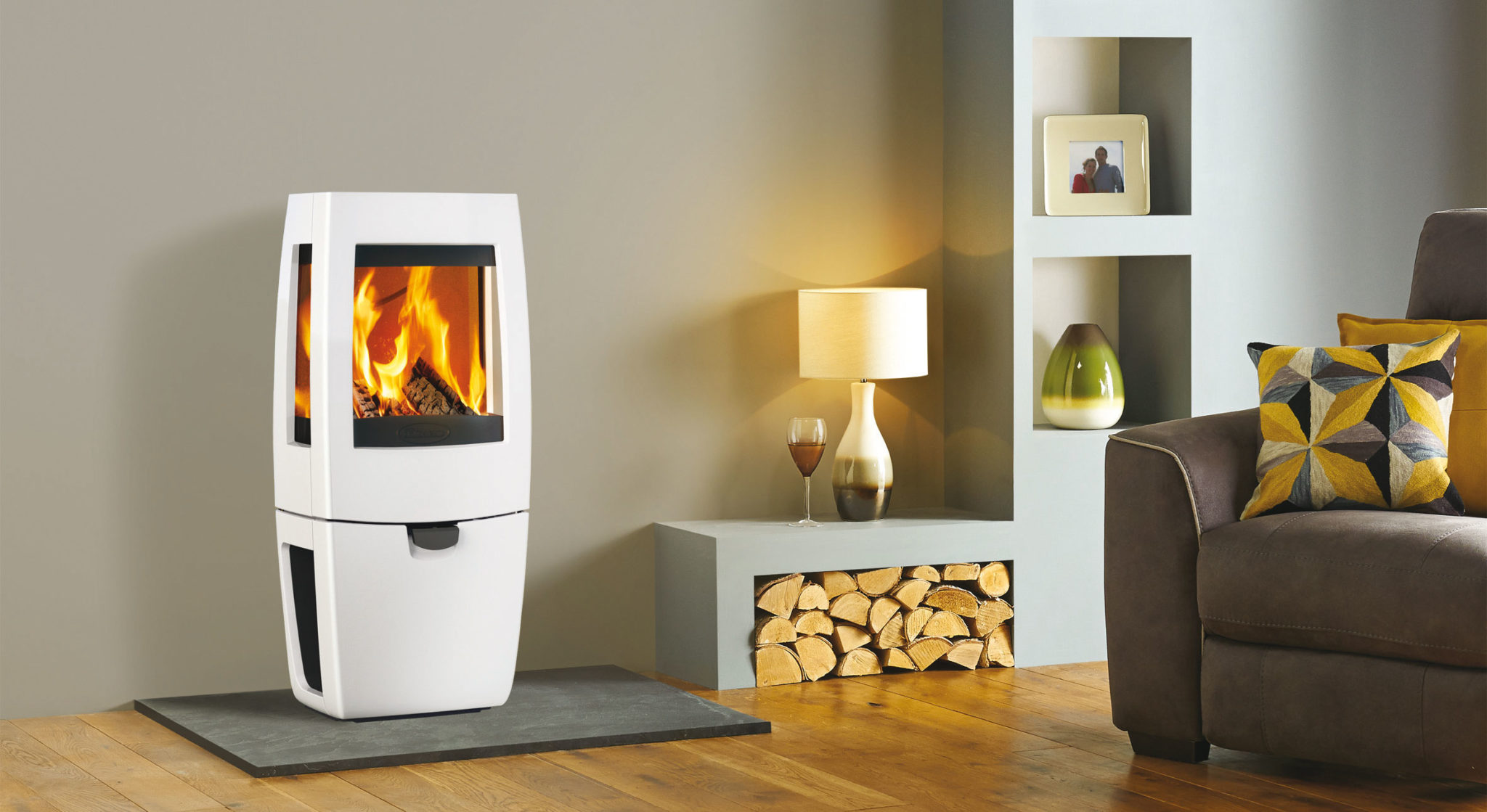 Eco Heating with Wood burning