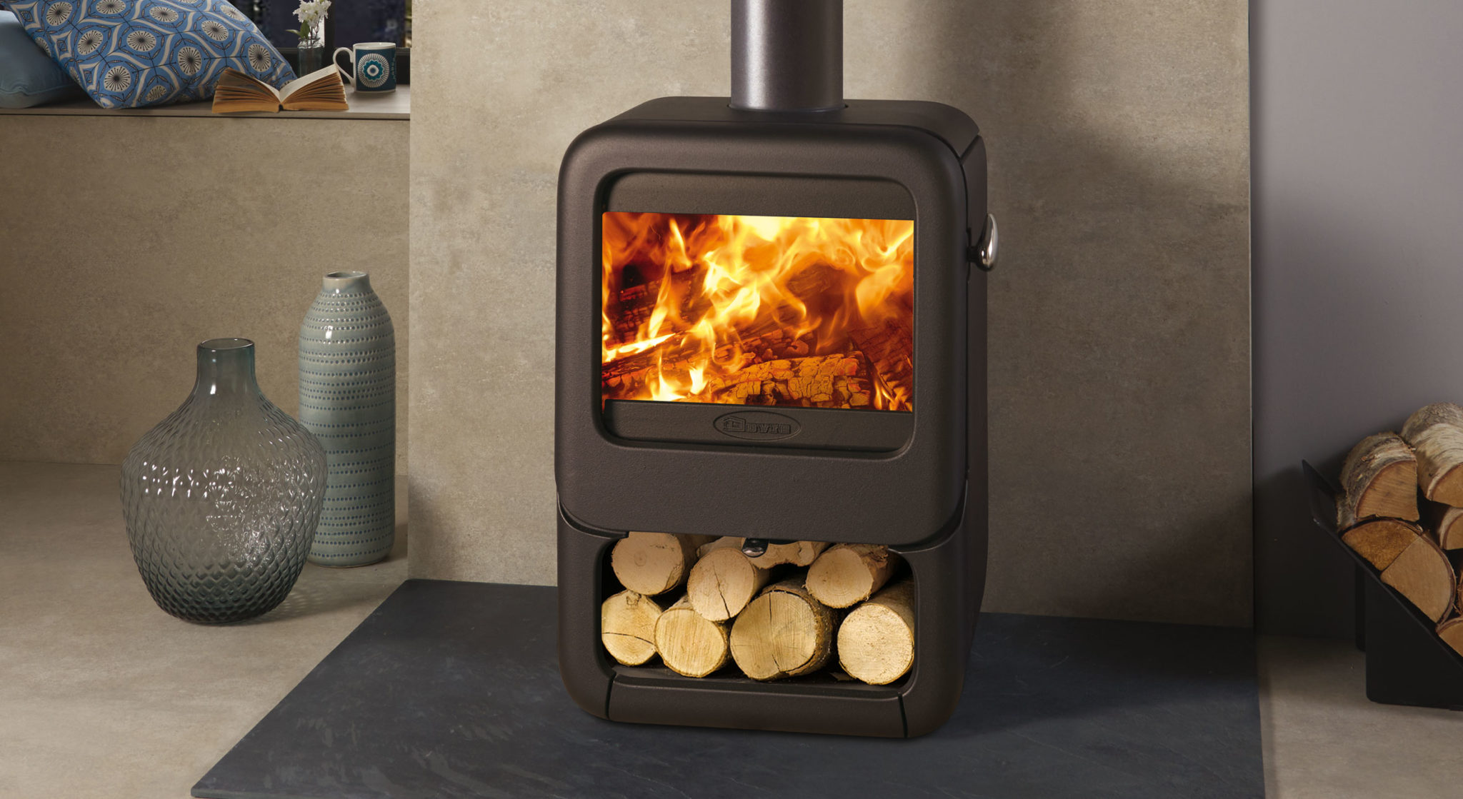 Dovre's Latest Wood Burning Stove is Solid as a Rock