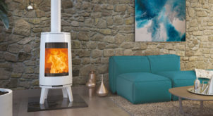 Dovre's stylish wood burning stove is Bold as Love