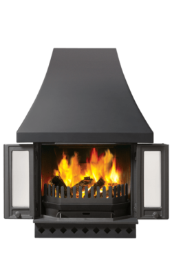 1800 Multi-fuel Fireplace