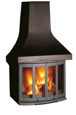 2400CB Wood burning Fireplace