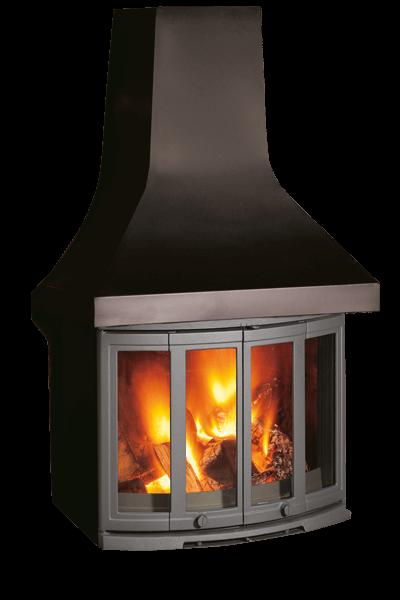 Dovre 2400cb Wood Burning Fireplace