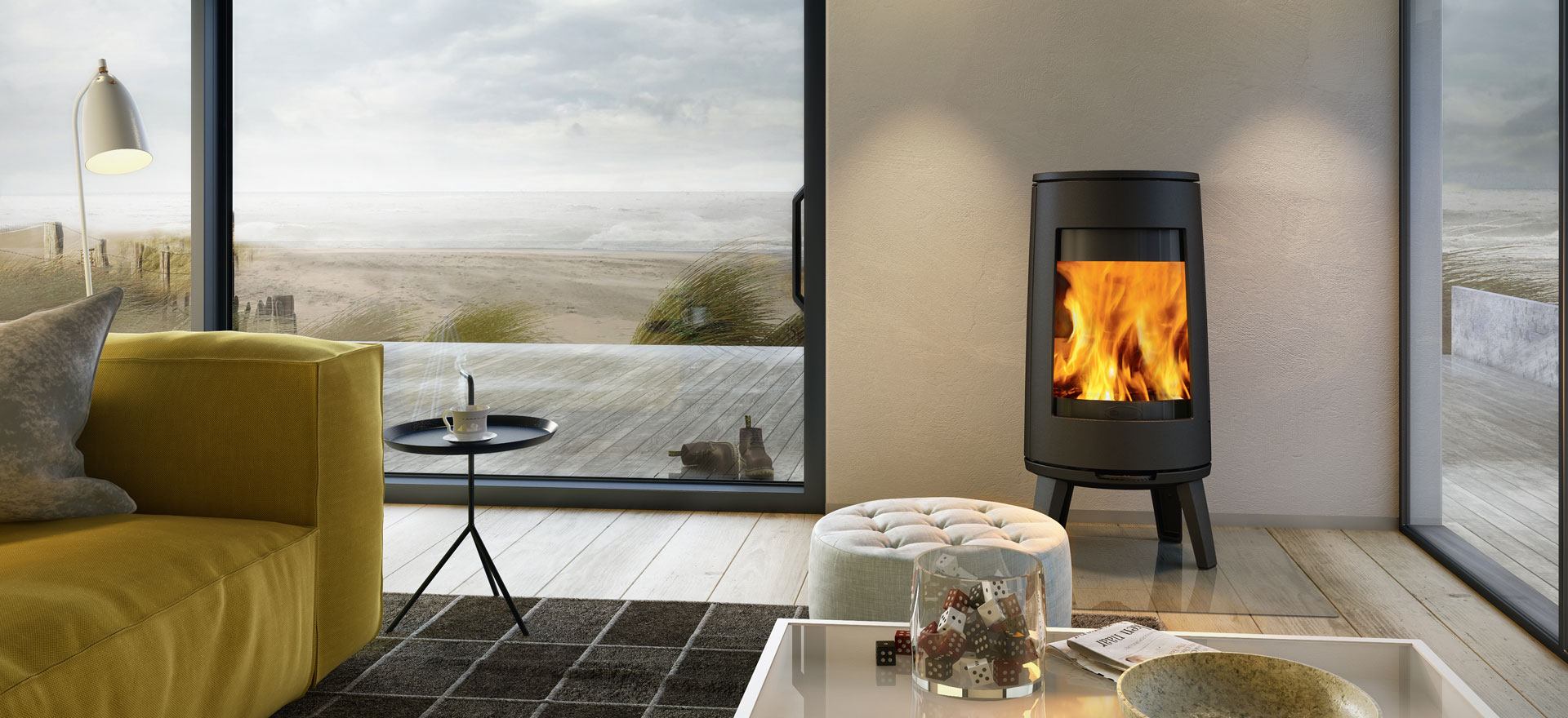 Scandinavian Wood Burning Stoves