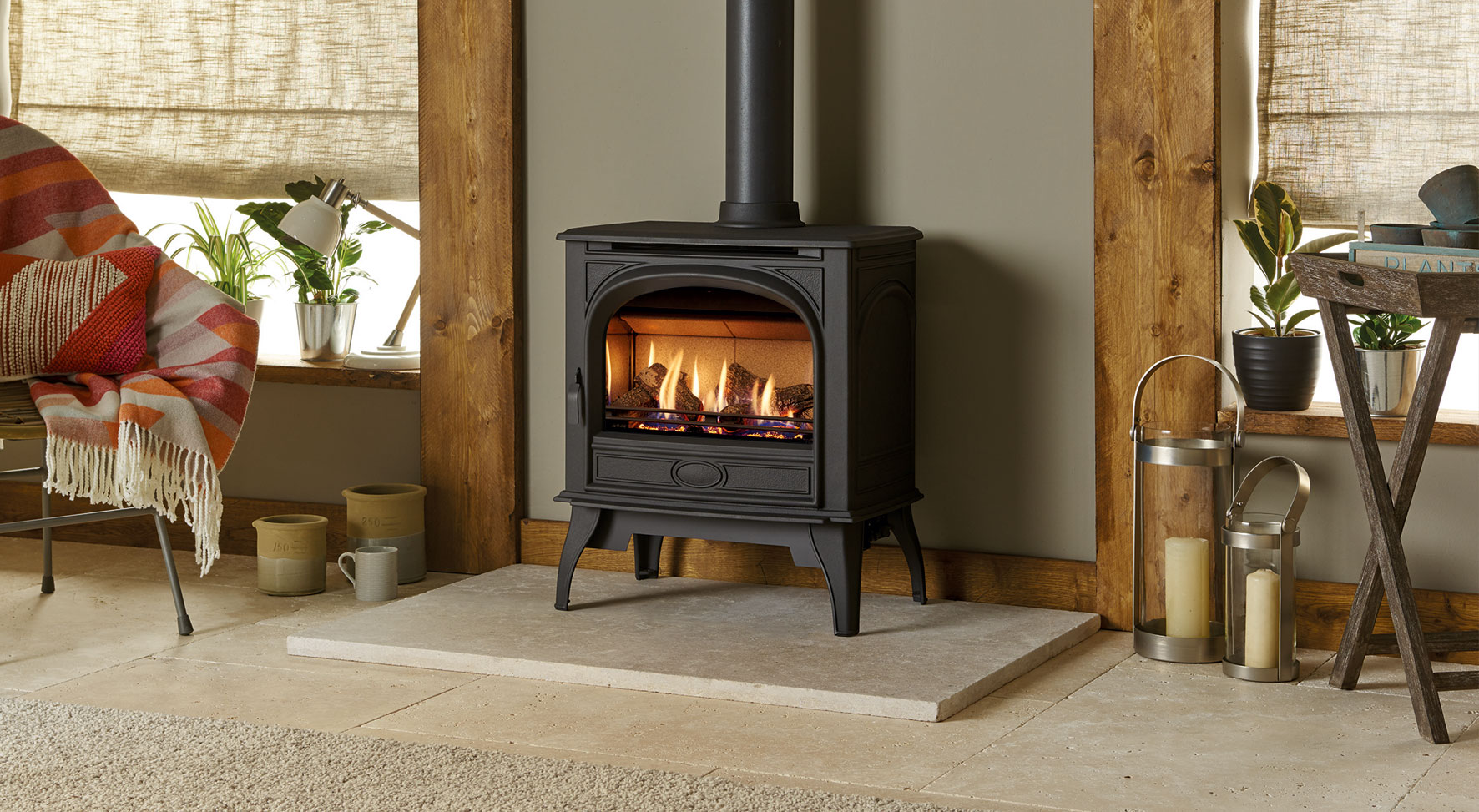 Why choose a Dovre Gas stove?