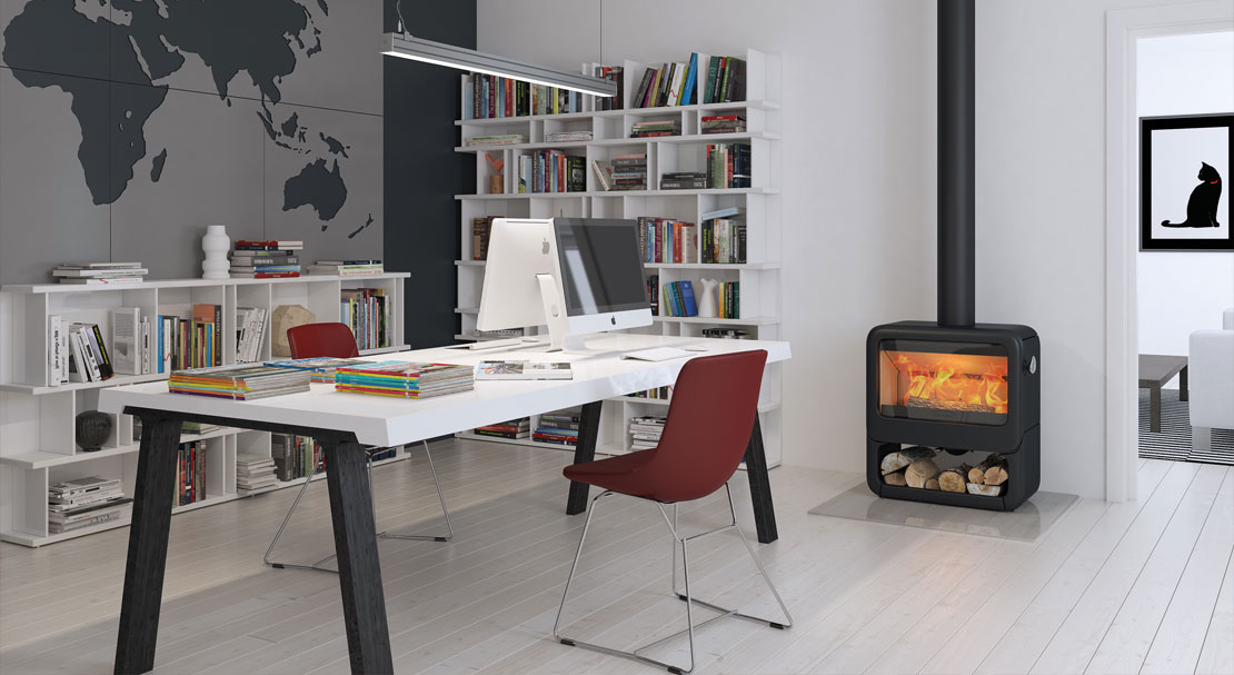 No Chimney? No problem for Dovre stoves