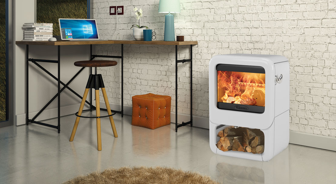 A Contemporary Wood Burner With A Scandinavian Twist Dovre Stoves