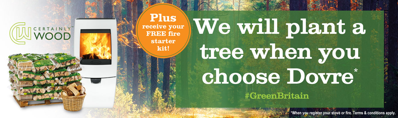 We will plant a tree when you choose Dovre