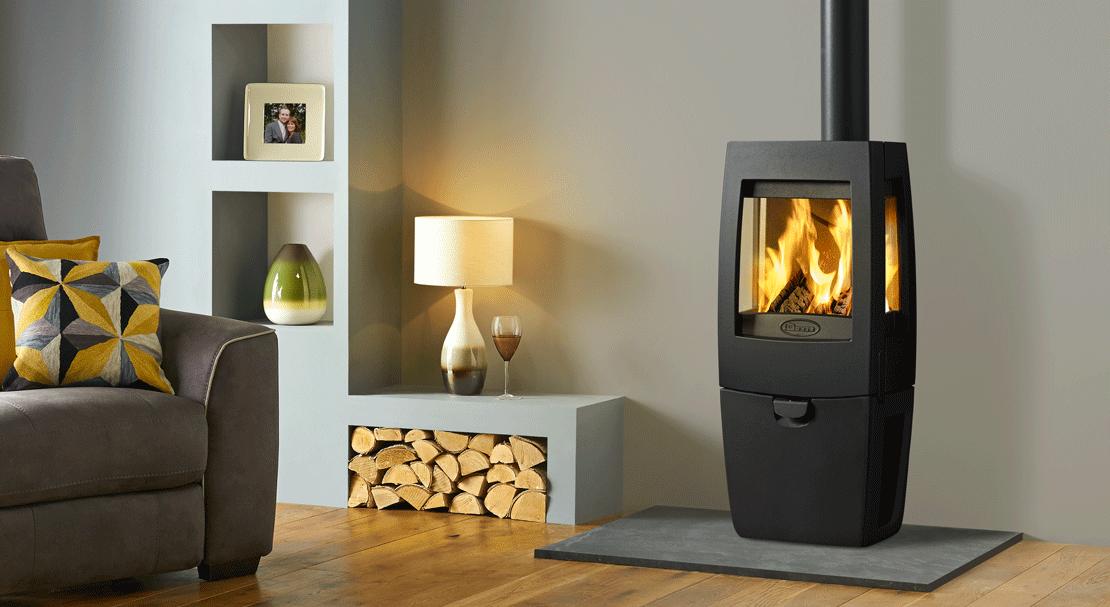 A Dovre wood burning stove makes sense